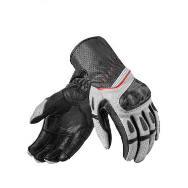 SPIDI P178 011 Ignite Skórzana męska kurtka na motocykl sportowy czarno-biała