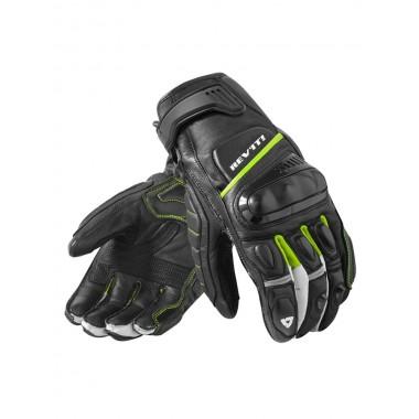 RICHA VINTAGE Męskie skórzane spodnie motocyklowe czarne