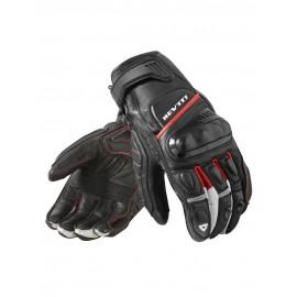 RICHA DUKE Sportowe rękawice motocyklowe skórzane z membraną czarne