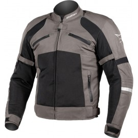 RICHA ELEGANCE LADY Damskie turystyczne rękawice motocyklowe ciemno szare