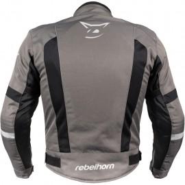 RICHA F 05 WATERPROOF Skórzane rękawice motocyklowe z membraną czarne