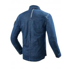 RICHA HARLEM Turystyczne skórzane rękawice motocyklowe z membraną czarne