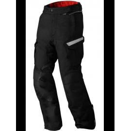 RICHA CHOPPER  Skórzane rękawice motocyklowe w kolorze czarnym
