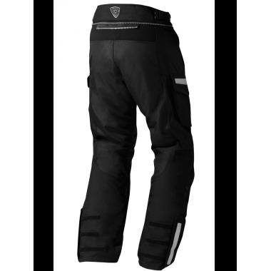 RICHA T-PRO RACING Sportowe rękawice motocyklowe ze skóry kangura czarne