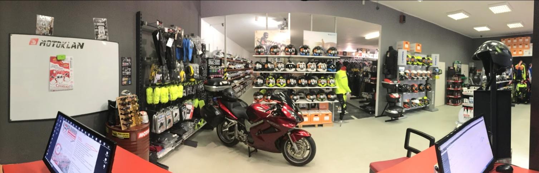 Motoklan gdańsk - sekcja kasków motocyklowych